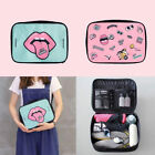 Pro Girl Cartoon Makeup Travel Organizer Cosmetic Toiletry Zip Storage Bag Case