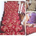 Latest Stair Mat Floral Arc Stair Treads Carpet Inside Anti-skid Step Rug 1PC