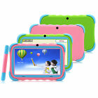 "iRULU 7"" HD Tablet Android 4.4 Quad Core 8GB Bluetooth Learning Babypad Kids Toy"