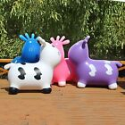 Newly Kids Toys Inflatable Cow Bouncy Toy Indoor Soft Jumping Fun Space Hopper