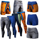 Men Ladies Dragon Ball Z Son Goku Vegeta Shorts Pant Long Trousers Sport Cycling