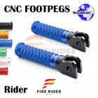POLE Front CNC Footpegs Footrests For Triumph Tiger 955i 01-07 01 02 03 04 05 06 $27.88 USD on eBay