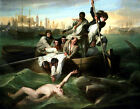 Watson and the Shark by J. S. Copley, 1778 (Classic American Romanic Art Print)