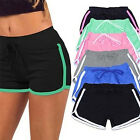 New Women Sports Shorts Trousers Athletic Gym Workout Fitness Yoga Leggings Pant