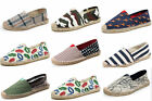 2017 Fashion New Women'S Casual Shoes Canvas Flats Shoes Striped Large Size