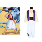 Disney Aladdins lamp Prince Aladdin Men set Cosplay Costume Clothes Halloween