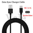 1M Braided 3.1A High-Speed Type-C USB Data Cable Rapid Charging For Cell Phone