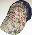 MOSSY OAK COUNTRY CAMO MESH CURVED BRIM ADJUSTABLE HAT CAP BRAND NEW