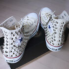 Genuine CONVERSE All-star with studs Sneakers Sheos Beige