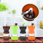 Manual Coffee Bean Espresso Grinder Mill Kitchen Grinding Tool Ceramic 16x9.2cm