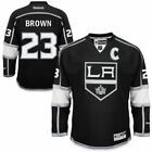 Dustin Brown Los Angeles Kings Reebok Mens Home Premier Jersey Black