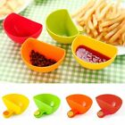 4PCS Assorted Colors Dip Clip Capacity Tiered Stand Creative Cup Serving Bowls