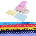 Fancy border punch S flower design embossing Punch scrapbook DIY paper cutter US