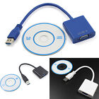 High Quality USB 3.0 to VGA Video Graphic Card Display External Cable Adapter