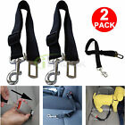 2 Pack Cat Pet Safety Seatbelt for Car Vehicle Seat Belt Adjustable Harness Lead