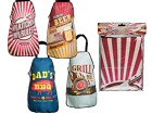 Retro Style Kitchen Aprons Chef Cooking Baking Vintage Diner Beer BBQ Grill Mens
