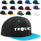 TROVE HAT cap ADJUSTABLE SNAPBACK 15 COLORS game voxal role play gamer pc online