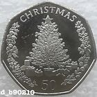 2016 Fifty Pence 50p Gibraltar Christmas Tree With Presents Coin New Release