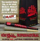 """One Pack SUPERNATURAL Pre Rolled RAW Wiz Khalifa Rolling Paper 12"""" LONG CONE new"""
