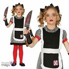 Childs Girls Gothic Rag Doll Broken Horror Halloween Fancy Dress Costume Outfit