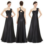 Womens Maxi Party Dress Sation Evening Prom One Shoulder Dress 09667 Ever-pretty