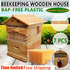 7pcs / 4pcs Auto Honey Hive Beehive Frames / Home Beekeeping Super Brood House