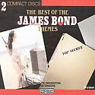 Best of James Bond Themes Various Artists Audio CD $3.99 USD