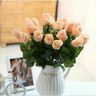 10/20 Head Real Latex Touch Rose Flowers For wedding Party Home Bouquet Decor