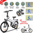 Ancheer 350W 36V Folding Electric Bicycle Bike EBike w/Lithium Batter WARRANTED