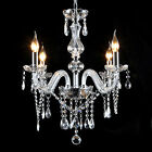 Modern Zinc Alloy Pendant Lamp Retro Ceiling Candle Crystal Chandelier 5 Light