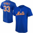 New York Mets Majestic Youth Player Name And Number T-Shirt - Royal