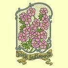 Fetzer Seed Pack Singles-PINK BUTTERCUPS- 5 Versions- Anemone Machine Embroidery
