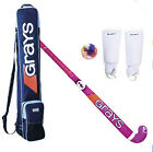 Grays/CranBarry Combi Youth Field Hockey Package |Stick,Bag,Shinguards,Ball(NEW)
