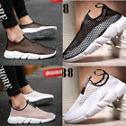 Men Mesh Casual Breathable hollow Sneakers Running lover Summer Shoes