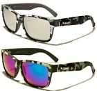 NEW X-Loop Oval Classic Men's Women's Camouflage Designer Sunglasses UV400 2490