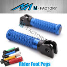 M-Grip Billet Front Rider Footpegs Fit Yamaha YZF R6 99-02