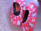 WASHINGTON NATIONALS BOWLING SHOE COVERS-MED, LG OR XL