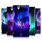 HEAD CASE DESIGNS NORTHERN LIGHTS HARD BACK CASE FOR SONY PHONES 3
