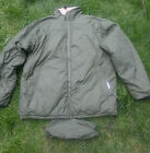 BRITISH ARMY REVERSIBLE THERMAL SOFTIE JACKET WITH STUFF SACK - Excellent Cond.