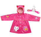Kidorable Adorable Novelty Child Raincoat with Matching Wooden Hanger