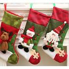 Christmas Santa Socks Stocking Cute Ornaments Xmas Tree Hanging Decoration S