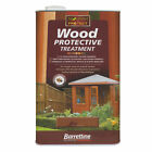 Barrettine Wood Protective Treatment -  5L, 2.5L & 1L - CHOICE OF COLOUR