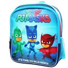 "PJ MASKS GECKO CATBOY OWLETTE 14"" 3D Backpack w/ Optional 3D Insulated Lunch Box"