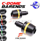 6Color CNC Dome Bar Ends Sliders For CB 600F Hornet 2007-2014 07 08 09 10 11 12