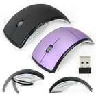 Foldable Wireless Mouse 2.4GHz USB Ergonomic Optical Cordless Mice PC Laptop