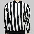 CCM 150 Senior Official Ice Hockey Referee Shirt - Black / White Stripes (NEW)