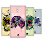 HEAD CASE DESIGNS BLOOMING SKULLS HARD BACK CASE FOR NOKIA 3