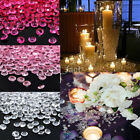 New 1000Pcs Diamond Table Confetti Wedding Party Acrylic Crystal Scatter 4.5mm
