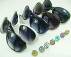 Fashion life Button Glasses Sports Sunglasses fit Snap noosa charm wholesale