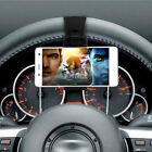 1Pc Adjustable Car Steering Wheel Clip Mount Holder Cradle Stand For Cell phone